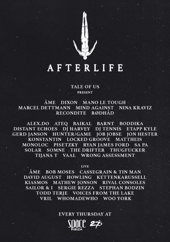 Afterlife ibiza