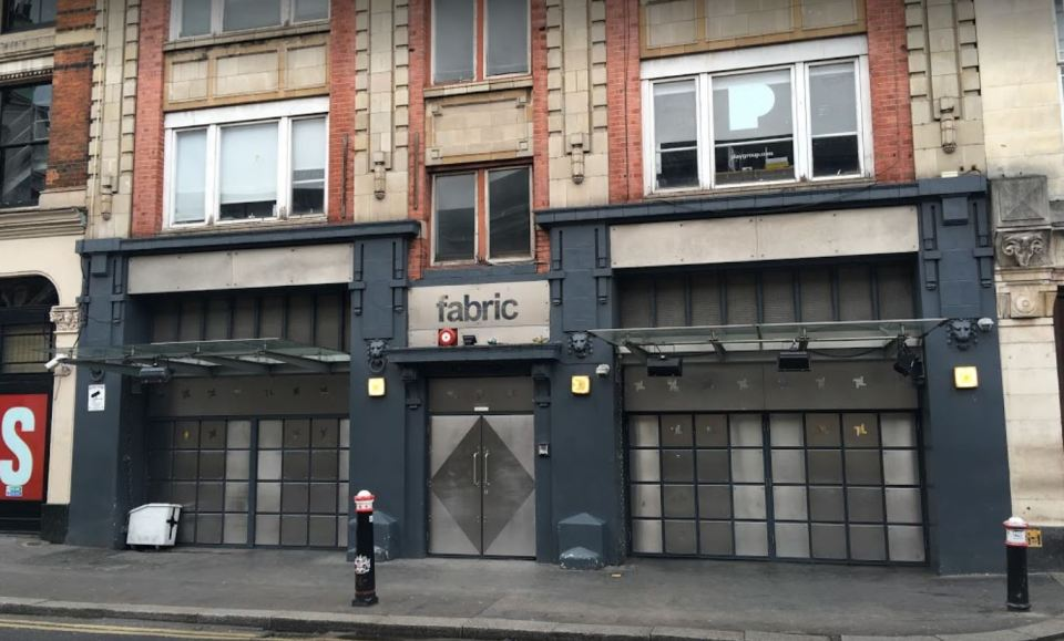 London superclub Fabric to close this weekend following 'drug overdose' deaths of two teenagers
